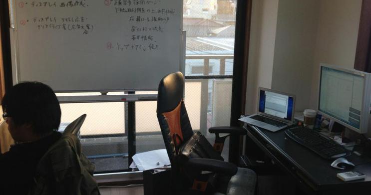2011年12月下北沢の6畳一間の自宅からスタート