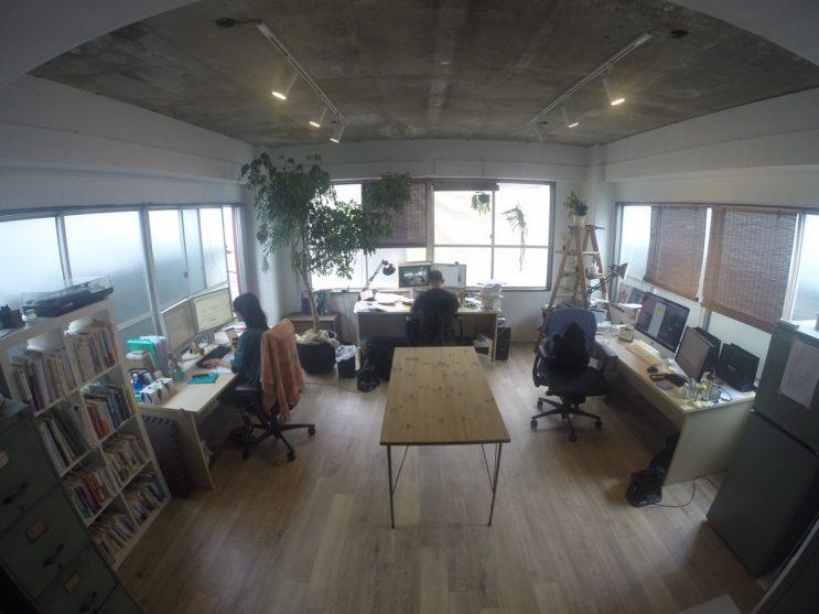オフィス内風景(2016/9/16)